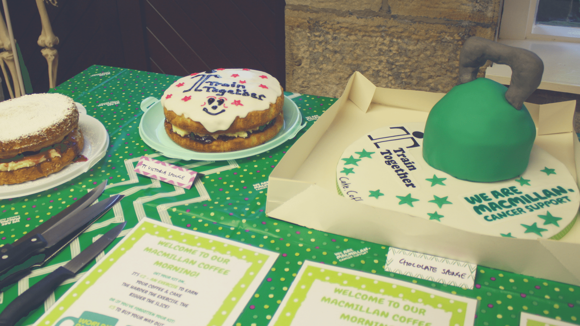 Check out how much we raised for Macmillan Cancer Care!