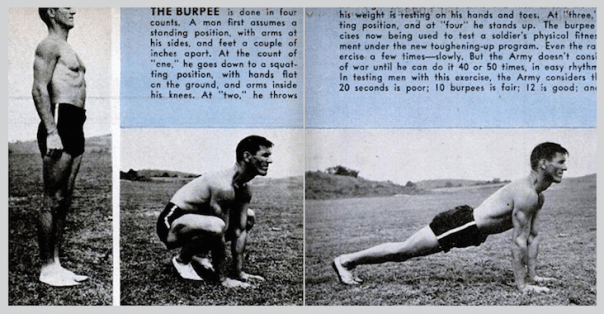 History of Burpees