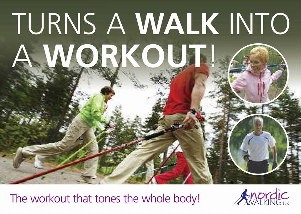 Learn to Nordic Walk…and turn every walk into a workout!
