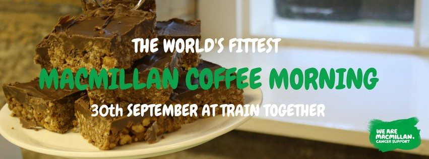 You're invited to… The world's fittest Macmillan Coffee Morning ;)